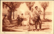 P.M. Dupuy - Jeunesse Family Mother Father Children c1910 Postcard myn