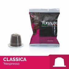100 CAPSULE CAFFE TORALDO MISCELA CLASSICA COMPATIBILI NESPRESSO