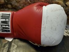 Autographed signed 1996 Germany Olympic boxing team signed glove, Oktay Urkal, +