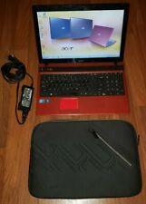 """Acer Aspire 5742 PEW71 15.6"""" Laptop Computer Windows 7 2.4Ghz 4GB RAM DVD w Case"""