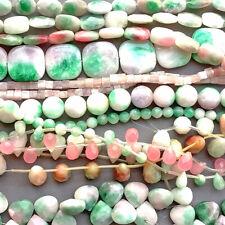 Destash Candy Jade Mixed Shapes Sizes Semi Precious Stone Beads Free Shipping