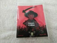 Fright Crate Exclusive HORROR  Children Of The Corn  ENAMEL PIN 1.75
