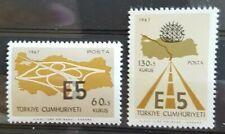 TURKEY / TURKIJE 1967 EUROPA MI.NR. 2058-59 MINT.N.H.