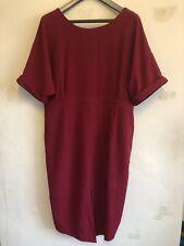 ASOS Red Wiggle Dress Size 24 Work Wear