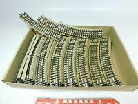AT529-2# 28x Märklin H0/00/AC Gleisstück/Schiene M-Gleis für 3600/800 Hohlprofil
