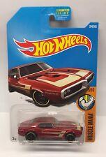 Hot Wheels '67 Pontiac Firebird 400 1967 5/10 HW Muscle Mania M Case Die Cast