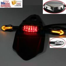 Universal LED Tail Running Brake Stop Turn Signal Lights Set For Motorcycle KTM