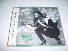 LISA & CULT JAM - LET THE BEAT HIT EM 3tr CD MAXI 1991