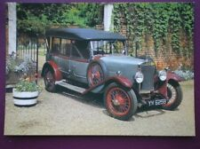POSTCARD CAR LEA FRANCIS MEADOWS SPORT 1927 CAR