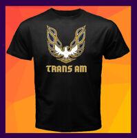 Pontiac Firebird Trans Am Classic Logo NEW Black Men's T-Shirt S M L XL 2XL