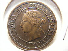 Canada 1881-H Large Cent, Very Fine