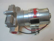 HOLLEY Black  Electric Methanol Fuel Pump 140 GPH 14 PSI 12-815-1 Pro Series