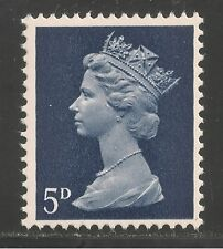 Great Britain #Mh8 Vf Mnh - 1967 5p Queen Elizabeth Ii / Machin