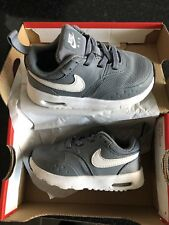 KIDS NIKE AIR MAX VISION GREY MESH RUNNING SPORT ACTIVE TRAINERS SIZE 6.5