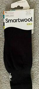 Smartwool Hiking Hike Liner Black Crew Socks Unisex MEDIUM Women's size 7-9.5