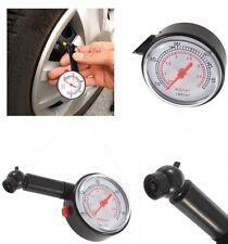 Voiture/van/camion/moto/cycle pneu/pneu jauge de pression-psi & bar scale