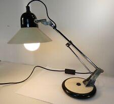 Jolie Lampe de bureau année 80 inclinable, fonctionne bien