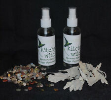 "BACK IN STOCK REAL ORGANIC WHITE SAGE SPRAY #2 ""Recovery Blend"" SMUDGE AURA HOME"