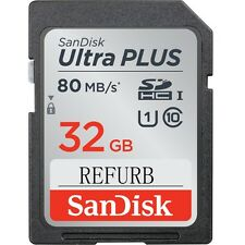 SanDisk 32GB SD Ultra SDHC Class 10 SD 80MB/S UHS-I Card SDSDU-032G Genuine