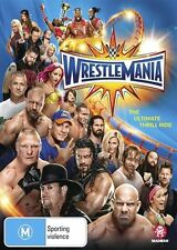 WWE Wrestlemania 33 2017 BRAND NEW SEALED R4 DVD