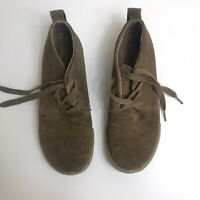 Mens Keen Shoes Size 8.5 Brown Tan Suede Tie Casual Shoes