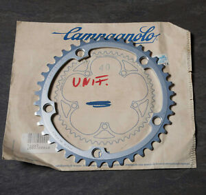 VINTAGE CAMPAGNOLO  40t 40- AS  BCD 135mm NOS corona chainring NUOVA C-RECORD