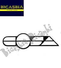 3695 - TARGHETTA COFANO LATERALE DESTRO PIAGGIO 125 150 200 COSA 1 2 CL CLX