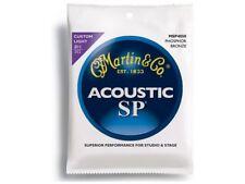 MARTIN MSP4050 Phosphor Bronze 92/8 Muta di corde per chitarra acustica Custo...