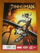 INHUMAN #11 MARVEL COMICS NM (9.4)