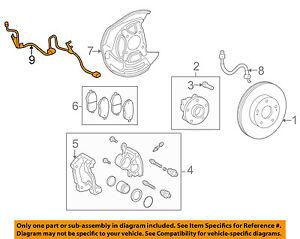 89516-53060 Toyota Wire, skid control sensor 8951653060