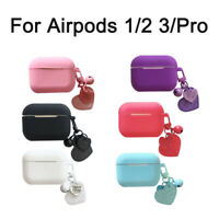 For AirPods 1/2 3 Case Protect Silicone Cover Skin AirPod Earphone Charger Cases