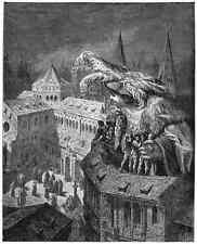 Gustave Dore gigantón Pantagruel 072 A4 Foto impresión
