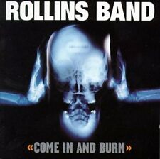 New: Rollins Band: Come in and Burn  Audio Cassette