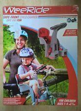 Weeride 98072E Safe Front Child Bike Carrier,  Red/Grey