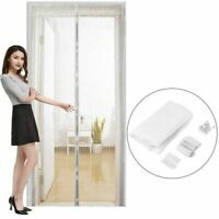 Anti Mosquito Insect Fly Bug Curtains Magnetic Mesh Net Door Automatic