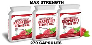 270 RASPBERRY KETONE MAX CAPSULES PLUS WEIGHT LOSS DIETING TIPS