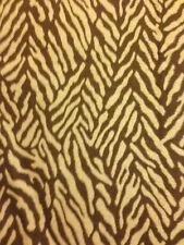 """KRAVET Brown/Beige Animal Print Fabric Sample 18"""" x 16.75"""" MSRP $69.30/YD"""
