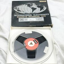 VINTAGE INTERNATIONAL ELECTRONICS MAGNETIC IN BOX REEL TO REEL TAPE RECORDER