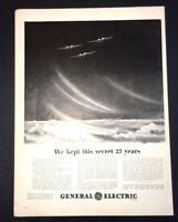 Life Magazine Ad GENERAL ELECTRIC TURBO SPEED CHARGERS 1944 Ad