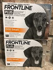 Frontline Plus For SMALL DOGS 0-22lbs (0-10kg) ~ 6 Month Supply, New, Exp 1/2020