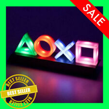 PlayStation Logo Voice Control Game Icon Light Acrylic Atmosphere Neon Ornament