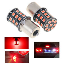 2Pcs 1156 BA15S 2835 33-SMD Red LED Bulbs Car Turn Signal Lamp Brake Lig lsTSZT
