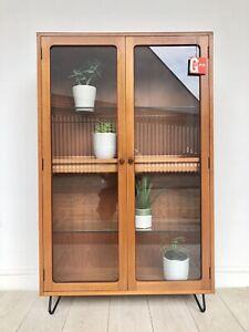 G Plan Fresco Teak Retro Bookcase Display Cabinet Sideboard Unit