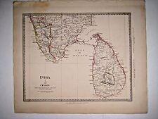 1831 SDUK: India I - Map of Ceylon & Southern tip of India