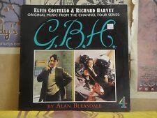 ELVIS COSTELLO RICHARD HARVEY, GBH SOUNDTRACK - LP DS LP 4 ALAN BLEASDALE