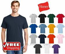 Hanes 5280 Mens Basic T-Shirt Cotton Comfort Soft Plain Comfort Blank Undershirt