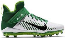 Nike Men's Alpha Menace Pro 2 Mid Football Cleats Green/White Aq3209,(13 M Us)