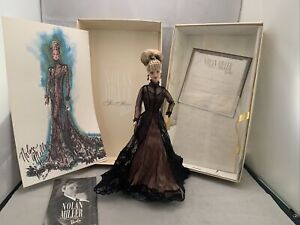 Nolan Miller Sheer Illusion 1998 Barbie Doll  with everything In Box