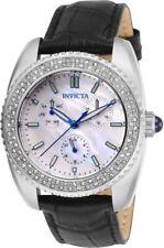 Invicta Angel Quartz Crystal White Dial Ladies Watch 28585