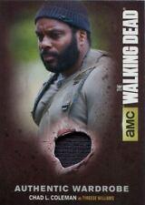 Walking Dead Season 4 Part 1 Authentic Wardrobe Card M-19 Tyreese Williams